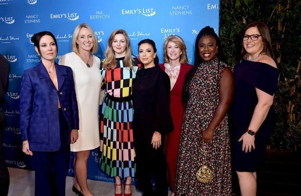 EMILY's List 3rd Annual Pre-Oscars Event - Arrivals [event,fashion,premiere,award ceremony,carpet,team,award,performance,dinner,fashion design,arrivals,amanda shires,emilys list,executive director,uzo aduba,wendy davis,amber tamblyn,l-r,los angeles,emilys list 3rd annual pre-oscars event,eva longoria,wendy davis,united states,desperate housewives,celebrity,army wives,actor,television,photograph]
