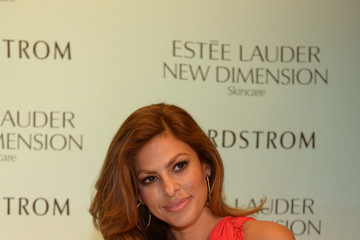 Eva Mendes Eva Mendes Launches Estee Lauder New Dimension Skincare at Nordstrom Aventura