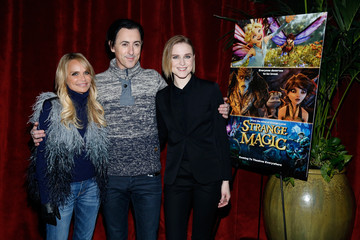 Evan Rachel Wood George Lucas, Alan Cumming, Evan Rachel Wood, Elijah Kelley, Meredith Anne Bull, Sam Palladio And Kristin Chenoweth Attend The New York Special Screening Of Lucasfilm's STRANGE MAGIC At The Tribeca Grand Hotel Hosted By The Cinema Society