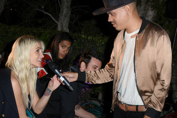 Evan Ross Rhonda's Kiss Kiss The Stars Cancer Fundraising Dinner At The Estate Club's Sky Castle Estate