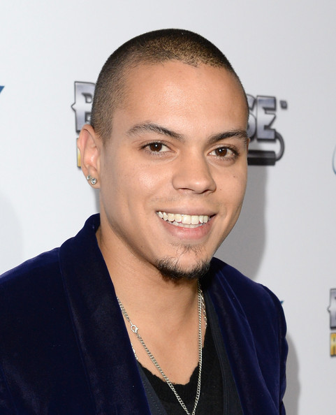 Evan Ross Musician Evan Ross attends the BandFuse: Rock Legends video ... Corbinbleu