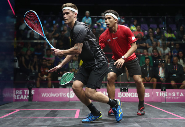 Squash - Commonwealth Games Day 1