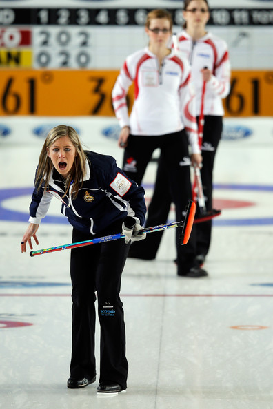... Curling Championship at the Volvo Sports Centre on March 23, 2013 in