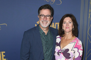 Evelyn McGee Colbert Showtime Emmy Eve Nominees Celebration - Arrivals