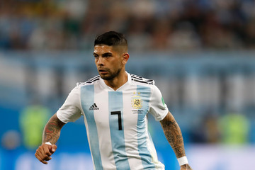 Ever Banega Nigeria Vs. Argentina: Group D - 2018 FIFA World Cup Russia