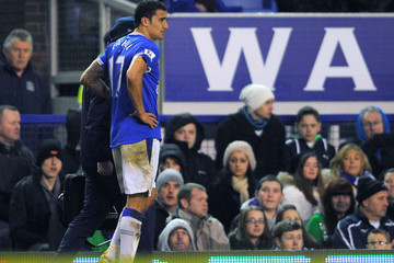 Tim Cahill Everton v Burnley - Premier League