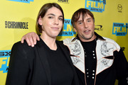 """Producer Megan Ellison (L) and director Richard Linklater attend the screening of """"Everybody Wants Some"""" during the 2016 SXSW Music, Film + Interactive Festival at Paramount Theatre on March 11, 2016 in Austin, Texas."""