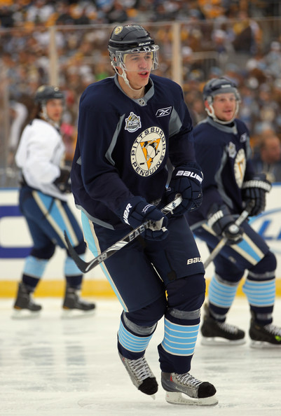 Evgeni Malkin Pictures - 2011 NHL Winter Classic Practice ...