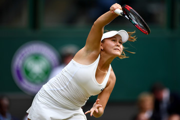 Evgeniya Rodina Day Seven: The Championships - Wimbledon 2018