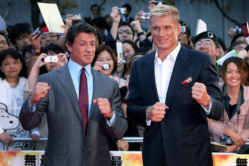 """Sylvester Stallone Dolph Lundgren """"The Expendables"""" Japan Movie Premiere"""