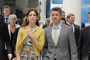 THR Prince Frederik of Denmark and Crown Princess Mary of Denmark visit at the 2012 Yeosu Expo on May 12, 2012 in Yeosu, South Korea. The Crown Prince and Crown Princess of Denmark are on a six-day visit to South Korea.