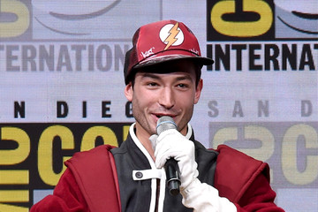 Ezra Miller Comic-Con International 2017 - Warner Bros. Pictures Presentation