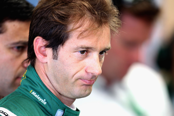 Jarno Trulli of Italy and Lotus prepares to drive during practice for the British Formula One Grand Prix at Silverstone on June 9, 2010, in Northampton, England.