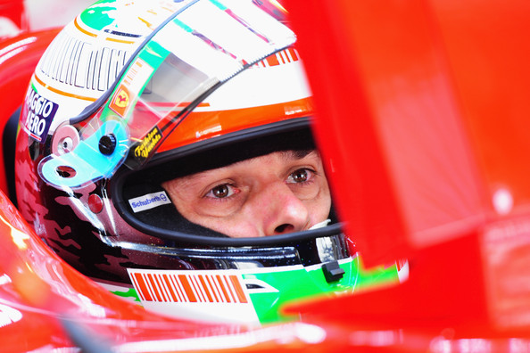 Giancarlo Fisichella of Italy and Ferrari prepares to drive during practice for the Abu Dhabi Formula One Grand Prix at the Yas Marina Circuit on October 30, 2009 in Abu Dhabi, United Arab Emirates.