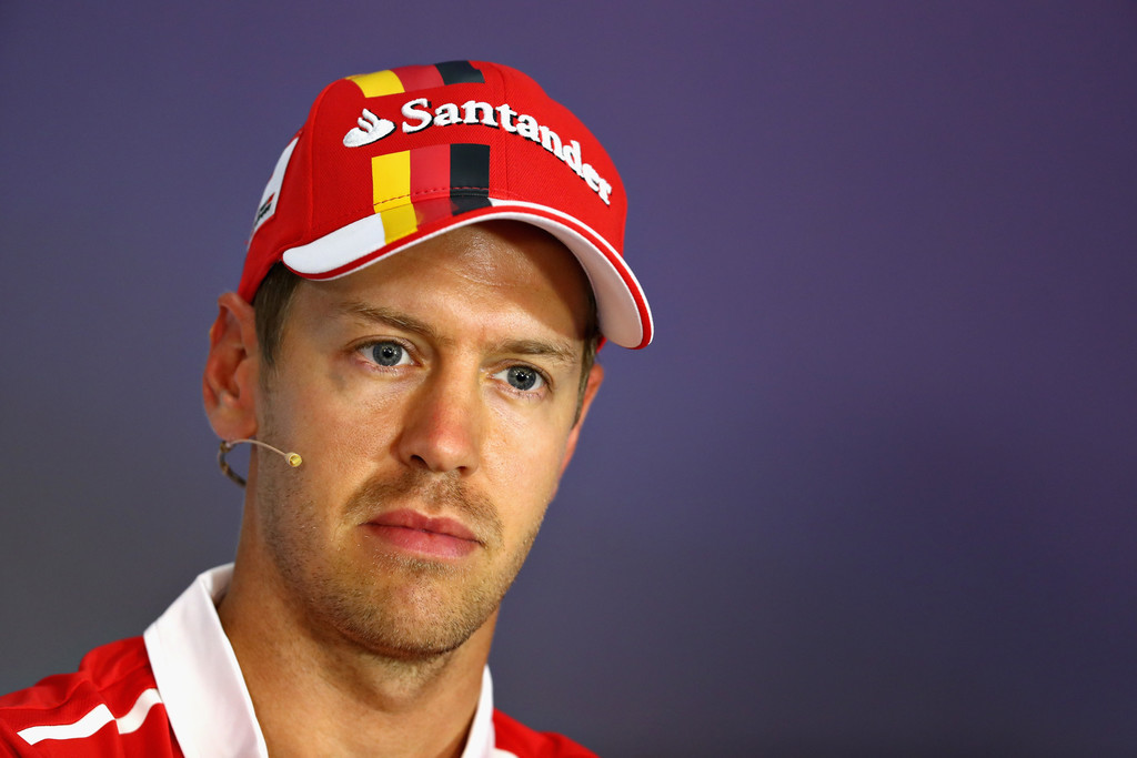 sebastian vettel photos photos f1 grand prix of austria previews zimbio. Black Bedroom Furniture Sets. Home Design Ideas