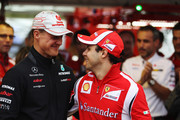 Michael Schumacher and Felipe Massa Photos Photo