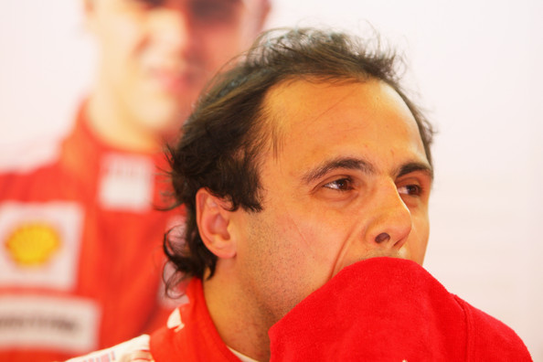 Felipe Massa of Brazil and Ferrari prepares to drive during the final practice session prior to qualifying for the Hungarian Formula One Grand Prix at the Hungaroring on July 25, 2009 in Budapest, Hungary.