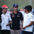 Jenson Button and Mark Webber Photos