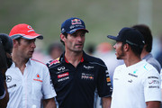Jenson Button and Mark Webber Photos Photo