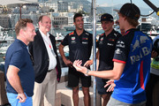 Christian Horner and Pierre Gasly Photos Photo