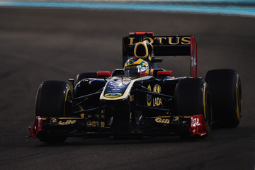 Bruno Senna F1 Grand Prix of Abu Dhabi