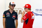 Kimi Raikkonen Jean-Eric Vergne Photos Photo