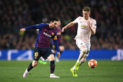 Lionel Messi and Scott McTominay Photos - 1 of 8 Photo