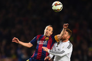 Sergio Ramos Andres Iniesta Photos Photo
