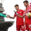 Manuel Neuer and Thomas Mueller