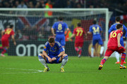 Raul Rusescu of FC Steaua scores a penalty past Petr Cech of Chelsea as Fernando Torres of Chelsea looks down during the UEFA Europa League Round of 16 match between FC Steaua Bucuresti and Chelsea at the National Arena on March 7, 2013 in Bucharest, Romania.