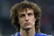 David Luiz of Chelsea looks on during the UEFA Europa League Round of 16 match between FC Steaua Bucuresti and Chelsea at the National Arena on March 7, 2013 in Bucharest, Romania.
