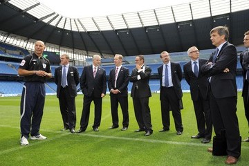 Wolfgang Eichler FIFA Inspection Team Visit Downing Street