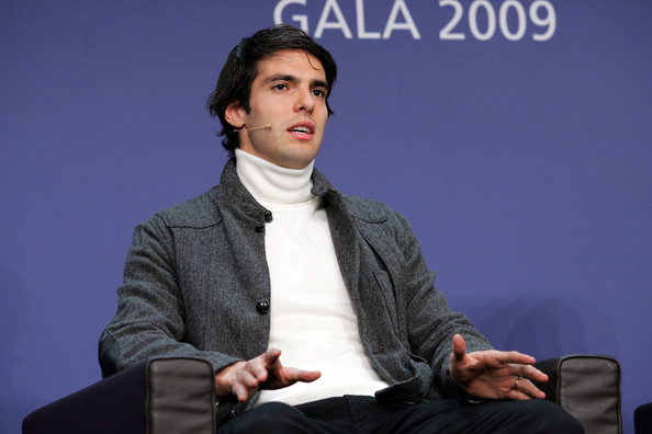 Brazil's Kaka during a Press Conference for the FIFA 2009 Men's Player of the Year at the Kongresshaus on December 21, 2009 in Zurich, Switzerland.