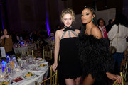 Lili Reinhart and Keke Palmer attends the 2019 IFP Gotham Awards with FIJI Water at Cipriani Wall Street on December 02, 2019 in New York City.