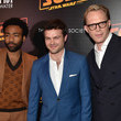 Donald Glover and Paul Bettany