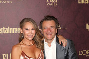 Kym Johnson and Robert Herjavec attend FIJI Water at Entertainment Weekly Pre-Emmy Party on September 15, 2018 in Los Angeles, California.