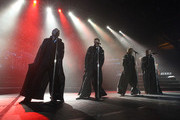 The band Westlife performs on stage at the TSB Bank Arena on May 9, 2008 in Wellington, New Zealand.