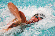 Pieter Timmers of Belgium competes in the Mens 100m Freestyle Final on day 2 of the FINA Swimming World Cup held at Pieter van den Hoogenband & Tongelreep Swimming Stadium on September 29, 2018 in Eindhoven, Netherlands.