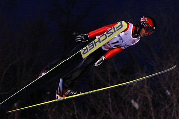 Takanobu Okabe FIS Ski Jumping World Cup Sapporo 2010 - Official Training