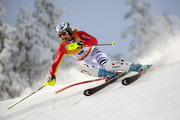 (FRANCE OUT) Susanne Riesch of Germany competes during the Alpine FIS Ski World Cup Women's Slalom on November 14, 2009 in Levi, Finland.