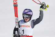 Tessa Worley of France wins the gold medal during the FIS Alpine Ski World Championships Women's Giant Slalom on February 16, 2017 in St. Moritz, Switzerland