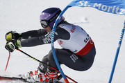 Tessa Worley of France competes during the FIS Alpine Ski World Championships Women's Giant Slalom on February 16, 2017 in St. Moritz, Switzerland