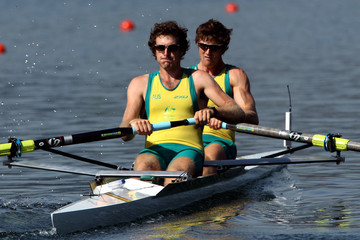 Dominic Grimm FISA Rowing World Cup - Day One