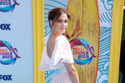 Maia Mitchell attends FOX's Teen Choice Awards 2019 on August 11, 2019 in Hermosa Beach, California.