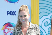 Candace Cameron-Bure attends FOX's Teen Choice Awards 2019 on August 11, 2019 in Hermosa Beach, California.