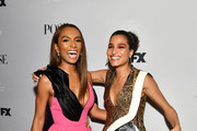 """Janet Mock (L) and Indya Moore attend FX Network's """"Pose"""" season 2 premiere on June 05, 2019 in New York City."""