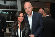 Pamela Adlon (L) and Louis C.K. attend FX Networks celebration of their Emmy nominees in partnership with Vanity Fair at Craft on September 16, 2017 in Century City, California.