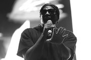 Image shot in black and white. No color version available.)  Q-Tip of A Tribe Called Quest performs onstage during day 2 of FYF Fest 2017  at Exposition Park on July 22, 2017 in Los Angeles, California.
