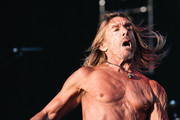 Iggy Pop performs onstage during day 3 of FYF 2017 on July 23, 2017 in Los Angeles, California.