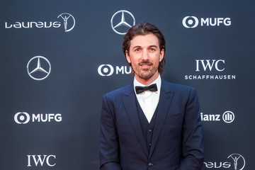 Fabian Cancellara Red Carpet - 2018 Laureus World Sports Awards - Monaco
